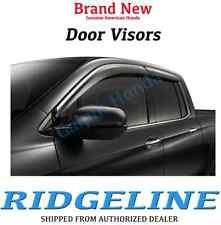 Genuine OEM Honda Ridgeline Door Visor Kit    2017 - 2019  (08R04-T6Z-100)