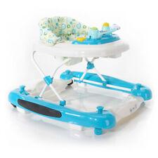 Baby Walker Interaktiv mit Lichtern und Musik Baby Lauflernhilfe Blau