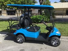 New listing  BAHAMA BLUE 4 PASSENGER ADVANCED EV LSV STREET LEGAL GOLF CART FAST LUXURY