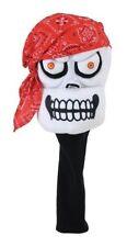 NEW Winning Edge Pirate Skull Golf Driver Head Cover