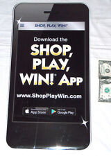 """Monopoli Safeway Shop-Play-Win Gioco 19.75 """" Cartoncino Iphone App Riporre"""