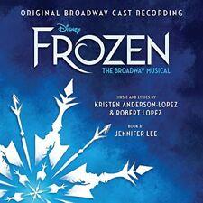 Frozen The Broadway Musical Audio-cd 2018
