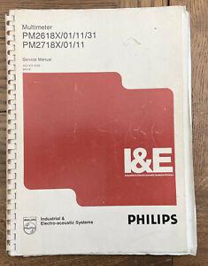 Philips PM2618X/01/11/31 PM2718X/01/11 Service Manual