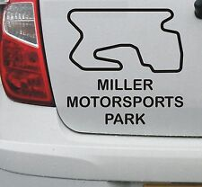 Miller Motorsport Park #1 American race circuit vinyl decal sticker - DEC1031