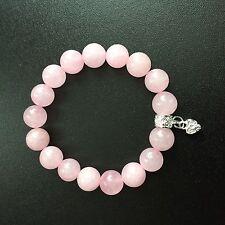 Handmade Rose Quartz Beaded Fine Bracelets