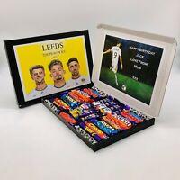 Leeds United Chocolate Selection Box Hamper - Personalised Name & Number
