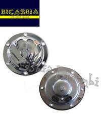 4303 - CLACSON BACHEL CROMATO A 6 VOLT VESPA 150 GS VS2T VS3T CON BATTERIA