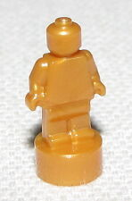 LEGO NEW PEARL GOLD STATUETTE STATUE TROPHY PIECE
