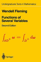 Functions of Several Variables by Fleming, Wendell (Hardback book, 1987)