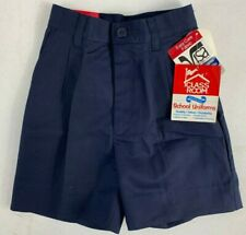 Classroom School Uniforms Boys Uniform Shorts Nwt 52152S Navy Size 8 or 10 Uni15