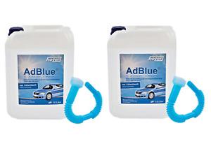 2x AdBlue 10 Liter inkl Füllschlauch Hoyer Ad Blue 10L 76040088 20L VW Audi LKW