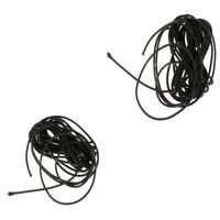 2 Pieces//Set 3mm x 5m Bungie Elastic Rubber Ropes Shock Bungee Stretch Cords