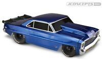 JConcepts 0343 1966 Chevy II Nova 2-Door Hardtop Short Course Clear Body