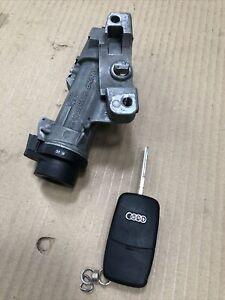 Audi A4 B6 2001-2006 Ignition Barrel & Key 4B0905851N