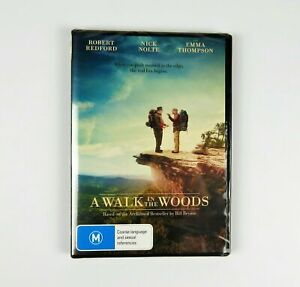 A Walk In The Woods Robert Redford Nick Nolte Emma Thompson Brand New Sealed