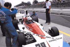 Fotografía de Mark Donohue Penske 9x6 - 751 de marzo, Alemán GP NURBURGRING 1975