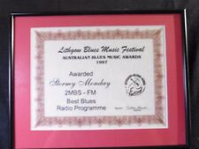 5th Lithgow Blues Music Festival Award - Best Blues Radio Programme