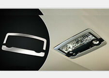 2008-2014 For BMW X6 E71 Interior Rear Back Reading Lights Lamp Cover Trim Steel