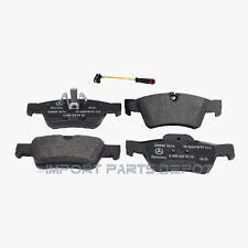 Rear Brake Pads Pad Set OEM Genuine Mercedes 1642720 + Sensor (VIN#REQUIRED)