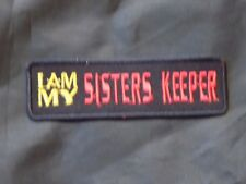 Widows Sons Sisters Keeper Masonic Patch Iron Sew Freemason Fraternity NEW!