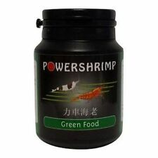 Powershrimp GREEN FOOD 50g vegetable feed - cherry crystal tiger colour enhance