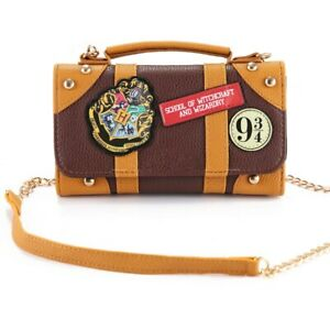 Magic Shool Handbag PU Shoulder Bag Wallet Clutch Purse Xmas Gift Cosplay Prop