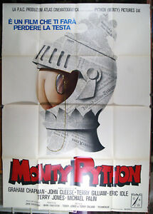 manifesto 4F film MONTY PYTHON and the Holy Grail - Terry Gilliam 1975