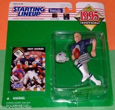 1995 TROY AIKMAN Dallas Cowboys Kenner - FREE s/h - Starting Lineup slu