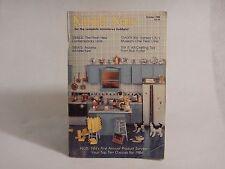 1983 Octobor : Nutshell News Miniatures Hobbyist Magazine