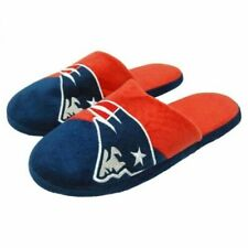 New England Patriots NFL 2018 Color block Slide Slippers-New