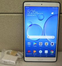"Huawei Mediapad M3 8.4"" BTV-W09 2560 x 1600 32GB Tablet 100% Screen USB Bundle"