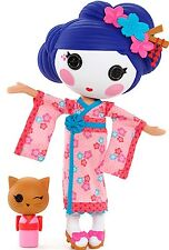 NEW LARGE Lalaloopsy Doll Japanese Geisha YUKI KIMONO & CAT Pet RARE 2014 MODEL