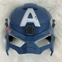 Halloween Costume Marvel Captain America Light-up Face Mask Rogers Hasbro Kids