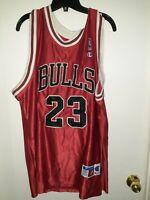 Michael Jordan Chicago Bulls #23 NBA Authentics Jersey-Sz.52-Champion ***Rare***