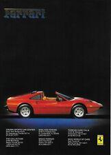 1988 Ferrari F40 Classic Vintage Advertisement Ad D61 Oz