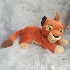 "Disney Lion King Kovu Plush Stuffed Animal Toy 16"" Simba's Pride Red Cub RARE"