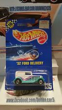 Hot Wheels '32 Ford Delivery #135 Blue Card From 1990   VHTF!!!!