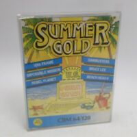 Summer Gold Commodore 64 C64 Cassette Game Compilation inc UK UK P+P