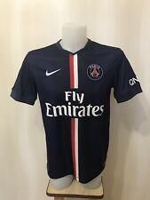 PSG 2014/2015 Home Sz M Nike football shirt jersey maillot Paris Saint-Germain