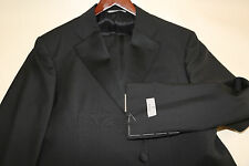 CANALI Two Button Travel Wool & Mohair Tuxedo Size 44 R