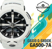 Casio G-Shock New Digital Analog Round Face Watch GA500-7A
