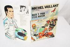 MICHEL VAILLANT MACH 1 POUR STEVE WARSON GRATON BD 1968 E.O SUPERBE
