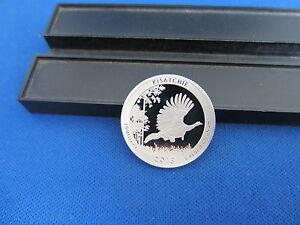 2015-S Silver Quarter KISATCHIE Deep Cameo Mirror Proof Upper Grading Ranges