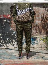 Nike Sportswear Swoosh AOP Tracksuit size xl Green Camouflage