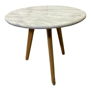 Marble Top Round Coffee Table/Side Table