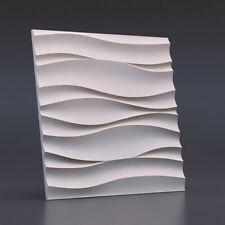 Molds For 3D Gypsum Panels Mold Plaster Wall Stone Wall Art Decor Plastic Forma