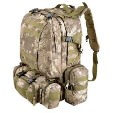 Wild Python Grain 55L Molle Camping Backpack Outdoor Tactical Camping Hiking Bag