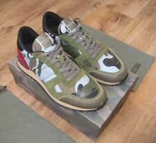 VALENTINO ROCKRUNNER CAMOUFLAGE TRAINERS SNEAKERS SHOES SIZE UK 11 US 12 EU 45