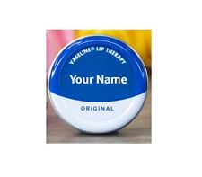 Personalised Vaseline Lip Therapy Tin (ORIGINAL)