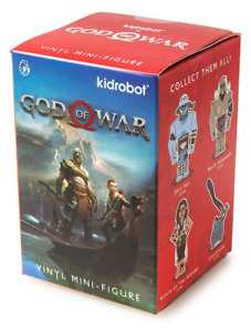 Kid Robot Random God Of War Vinyl Mini Figure (Blind Box) - New, Unopened